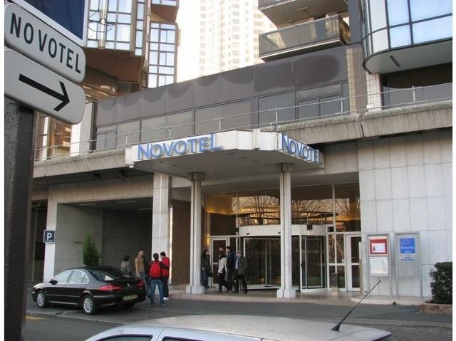 Hotel review novotel tour eiffel paris france for Piscine novotel tour eiffel