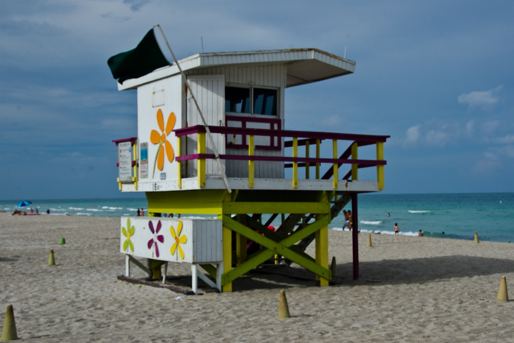 Miami Beach lifeguard station, 14th St