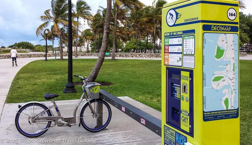 City Bikes Miami Deco bike