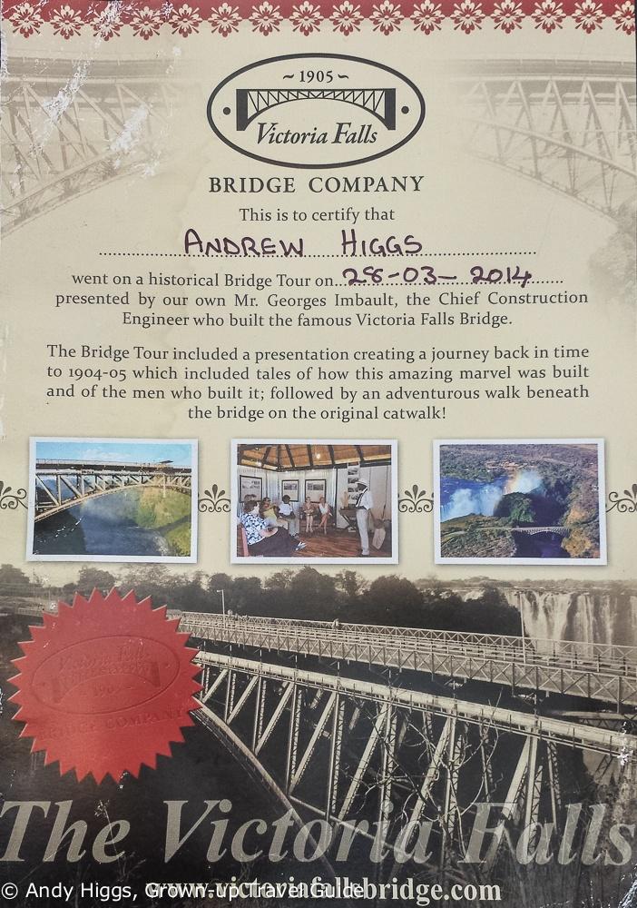 Bridge certificate